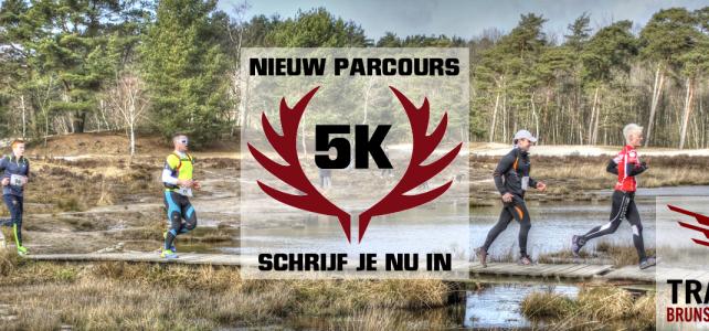 Nieuw parcours: 5 KM Trailrun Brunssummerheide