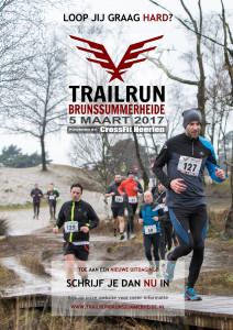 Trailrun Brunssummerheide 2017 Promotieposter