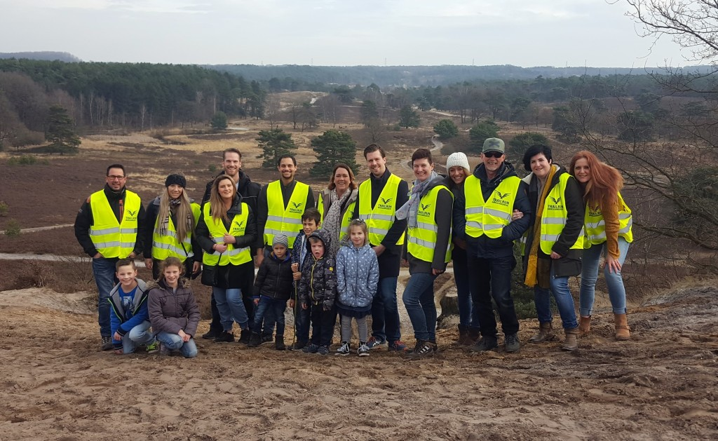 Trailrun Brunssummerheide 2017 vrijwilligers